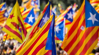 Hundreds of thousands of pro-independence Catalans are expected to rally Friday to break away from Spain [Javier Pérez de la Cruz/Al Jazeera]