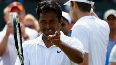 Paes stopped playing singles in 1999, after notching up 99 wins [Getty Images]
