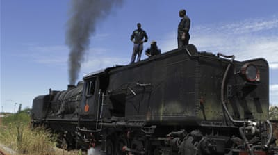 Zimbabwe's national railway system has reportedly fired as many as 600 workers [Tendai Marima/Al Jazeera]