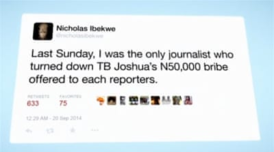 Nigeria's 'brown envelope' journalists