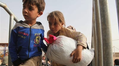Hundreds of thousands of children have been affected by the Syria conflict [EPA]
