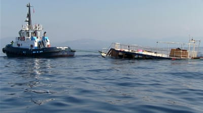 Bodrum Governor Amir Cicek said the boat had a capacity of 50-60 people, but was carrying 271 people on board [Reuters]