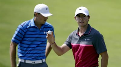 The gap between McIlroy and Spieth is a wafer-thin 0.023 average points [AP]