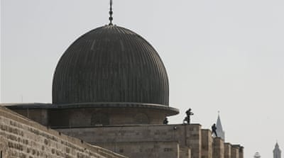 The Noble Sanctuary, or Temple Mount, is a spiritual microcosm of the Israeli-Palestinian conflict, writes Diab [Reuters]