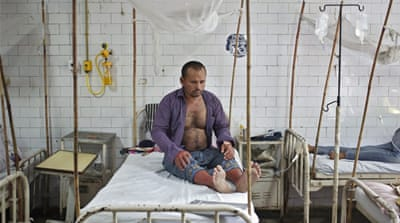 Delhi government struggles with dengue outbreak