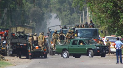 Pakistani Taliban spokesman said the attack was retaliation for bombing raids on their bases along the Afghan border [AP]