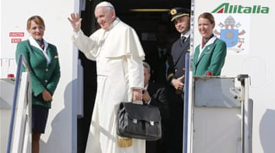 Communist Cuba rolls out red carpet for Pope Francis