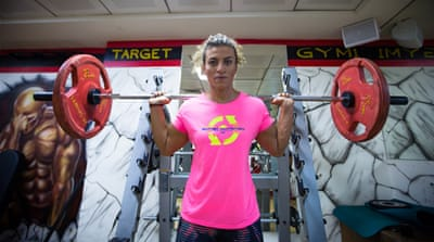 Pumping iron with the GCC's first female bodybuilder