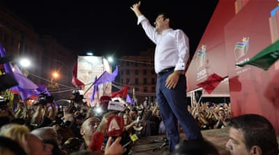 Left-wing Syriza party wins Greek snap polls