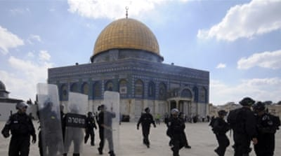 'The present struggle over Al-Aqsa is the consequence of Israel's use of religious dogma as a cover for its violent settler-colonialism,' says Abunimah [AP]