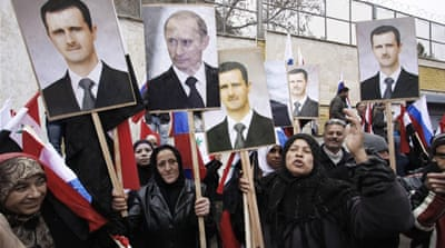 Putin: Overthrowing Assad will lead to failed state