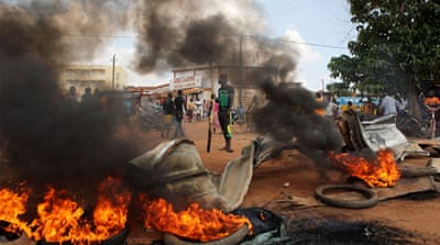 Burkina Faso coup and violent protests