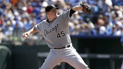White Sox had won the opening game 2-0 [AP]