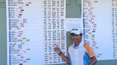 An 11-year-old village boy is India's next golf prodigy