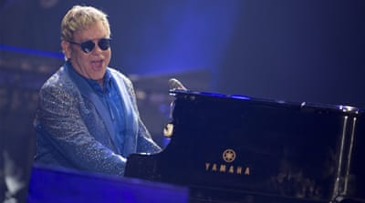 Last week, Elton John was tricked by a Russian comedian who pretended he was Putin on the phone [EPA]