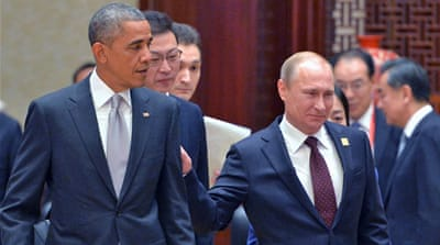 The last official bilateral meeting between Obama and Putin was in June 2013 at the G8 summit in Northern Ireland [EPA]