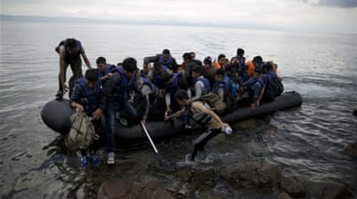 In October the EU will begin arresting smugglers in international waters as part of a military operation aimed at curbing the influx of refugees into Europe [AP]