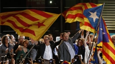 Catalonia separatists claim victory in regional polls