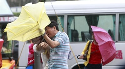 Taiwan evacuates thousands as 'super typhoon' nears
