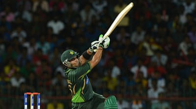 Akmal's unbeaten knock was Pakistan's highest individual score in the match [AFP]