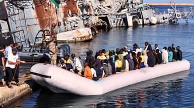 IOM estimated that 2,892 people have died attempting the crossing [EPA]