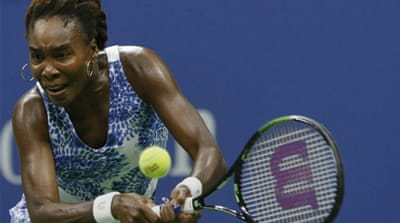Venus beat Radwanska to reach the 700-win landmark [Reuters]