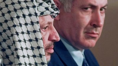 Swiss scientists said they found at least 18 times the normal levels of radioactive element in late Palestinian leaders bones [AP]