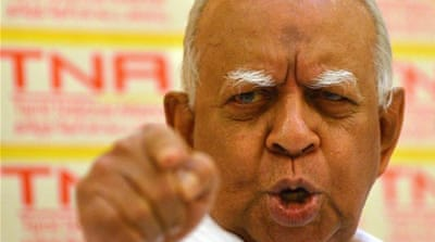 Sri Lanka names first Tamil opposition chief in decades