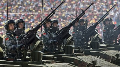 China: Marking 70 years after WWII with a show of force