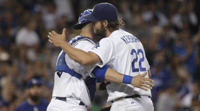 The Dodgers increased their margin over second-place San Francisco in the division to 6 1/2 games [AP]