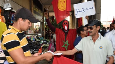 As campaigning for Morocco's local elections is under way, several activists have also been distributing leaflets calling for a boycott [Getty Images]