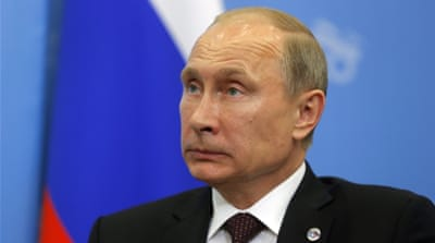 Putin says Syrians are not running from the Assad regime but from ISIL [EPA]