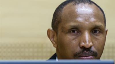 Ntaganda has been charged with ordering hundreds of deaths in ethnic attacks, as well as with the recruitment of child soldiers [Reuters]