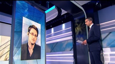 Preview: Snowden hits back at Clinton and Trump
