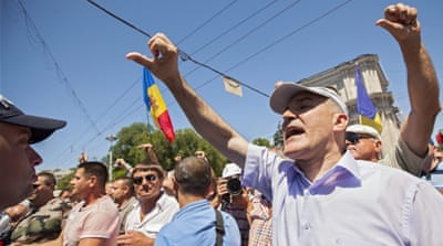 Moldova's $1bn bank fraud prompts massive rally