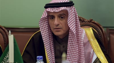 Jubeir did not specify what action Saudi Arabia might take against Iran [Aamir Qureshi/Reuters]