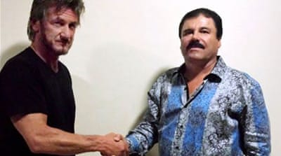 Mexico says Sean Penn interview helped catch El Chapo