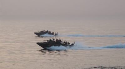 US officials said one of the vessels suffered mechanical problems, forcing it to drift into Iranian territory [File: Pentagon]