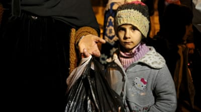 Aid reaches starving Madaya, other besieged Syria towns