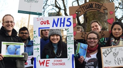 UK doctors go on strike over changes to contracts
