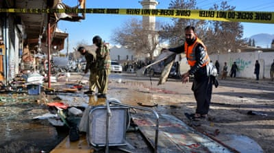 Deadly suicide attack targets polio centre in Pakistan