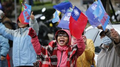 Will Tsai Ing-wen be Taiwan's first female president?