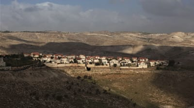 A general view of the Jewish settlement of Ma'aleh Adumim, on the outskirts of Jerusalem [AP]