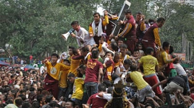 Black Nazarene procession in the Philippines