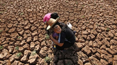 Worsening drought could prove another headache for Thailand's military government [Barbara Walton/EPA]