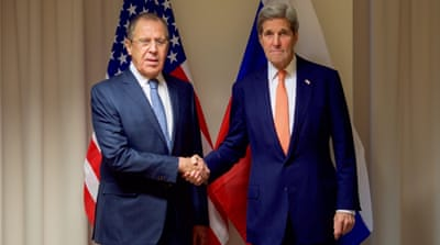 Lavrov said in Zurich that neither he nor Kerry had thought about seeking a postponement of the talks [Handout via EPA]