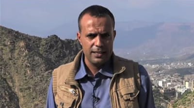 Hamdi al-Bokari and his colleagues were filming in the besieged city of Taiz [Al Jazeera]