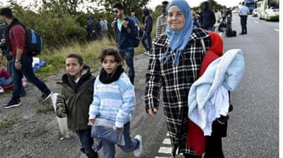 Denmark has tightened border controls in an effort to stem the refugee influx [Reuters]