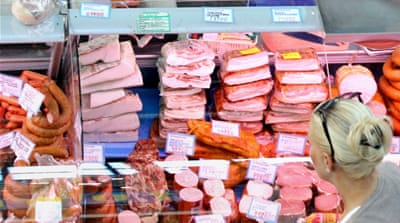 Pork is Denmark's most popular meat but it is forbidden to Muslims and Jews [EPA]