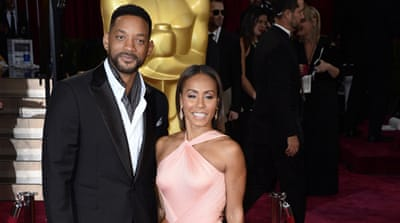 Actors Jada Pinkett-Smith and her husband Will Smith said they would boycott the Oscars [Paul Buck/AP]